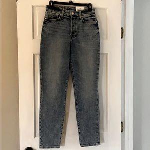 H&M high waist mom jean